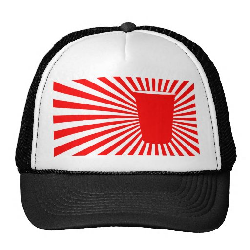 party cup trucker hat