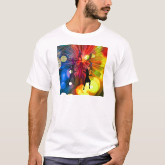 Party, dance and lights in celebration T-Shirt