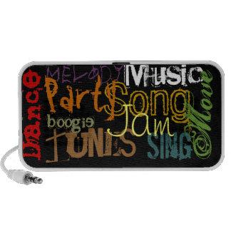 'Party-Dance-Music...' Portable Speaker