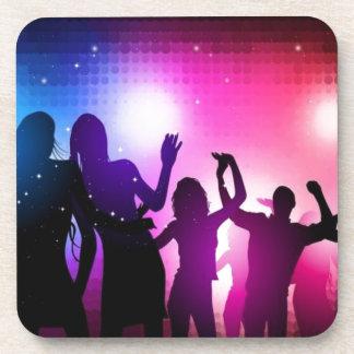 Party dancers design coaster