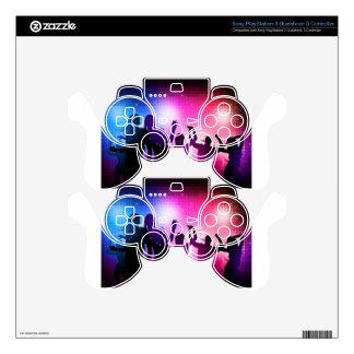 Party dancers design PS3 controller skins