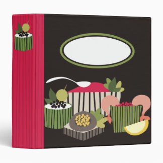 party dishes appetizers recipe cookbook binder