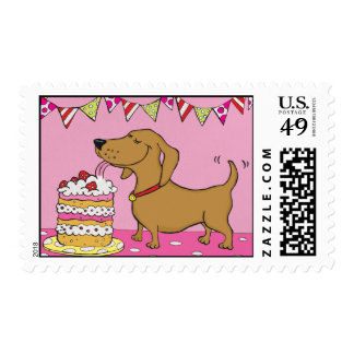 Party Dog Stamps