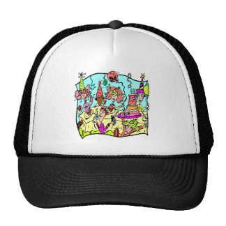 Party Down 50th Birthday Gifts Trucker Hat