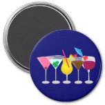 Party Drinks Refrigerator Magnet