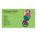 Party Entertainer Template Business Card
