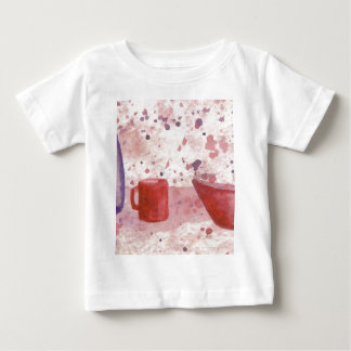 Party Escaping the Bowl CricketDiane Coffee Art Baby T-Shirt