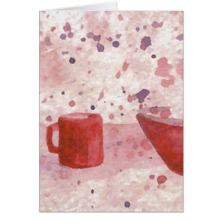 Party Escaping the Bowl CricketDiane Coffee Art Card