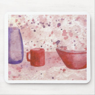 Party Escaping the Bowl CricketDiane Coffee Art Mouse Pad