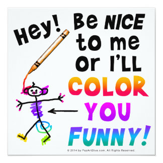 Party - Event Invitations - Color You Funny