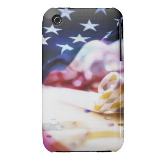 Party Favor and American Flag iPhone 3 Case-Mate Case