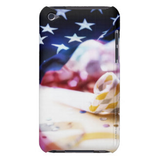 Party Favor and American Flag iPod Case-Mate Case