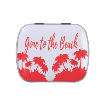 Beach Themed party favors beach party jelly belly tins