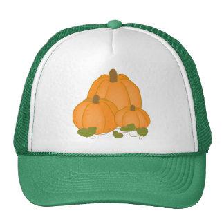 Party Festival Friend Family Cute Pumpkin Fall Trucker Hat