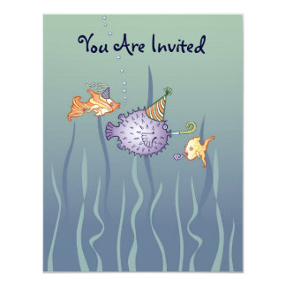 Party-Fish Invitation
