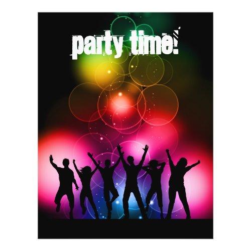 Party flyer flyer