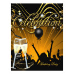 Party Flyer Champagne Party Celebration