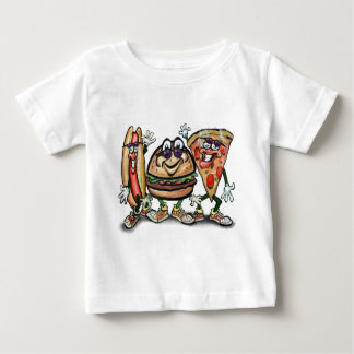 Party Food Baby T-Shirt