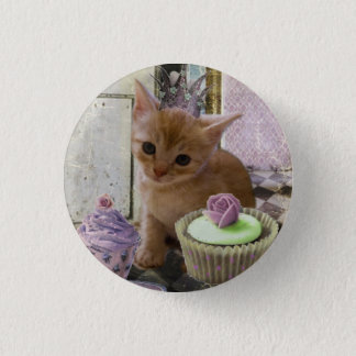 Party for One kitten button