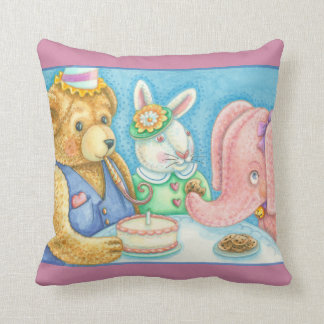 Party For Pinky Stuffed Animals THROW PILLOW
