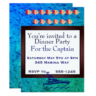 Party for the Captain Card