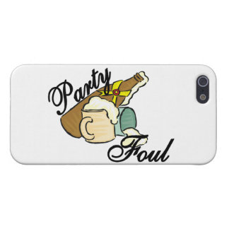 Party Foul iPhone 5 Cover