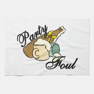 Party Foul Kitchen Towel
