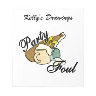Party Foul Memo Note Pads