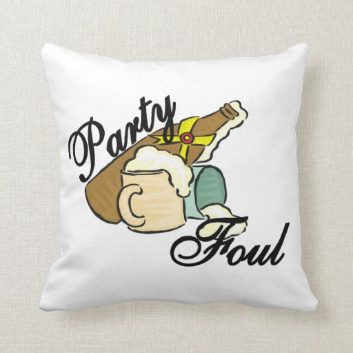 Party Foul Pillows