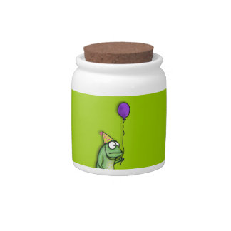 Party Frog Candy Dishes