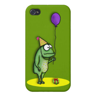 Party Frog Case For iPhone 4