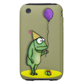 Party Frog iPhone 3 Tough Case