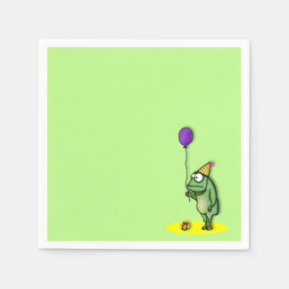 Party Frog Paper Napkin