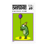 Party Frog Stamp