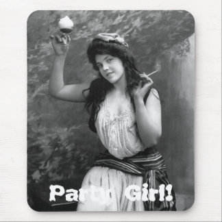 Party Girl, 1902 Mouse Pad