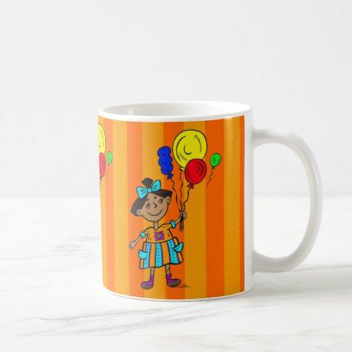 Party Girl Classic White Coffee Mug