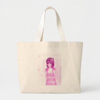 Party Girl Flapper in Hot Pink Canvas Bags