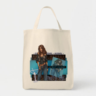 Party Girl - Grocery Tote