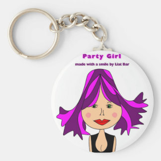 party girl key chains