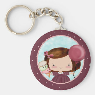 Party Girl Keychain