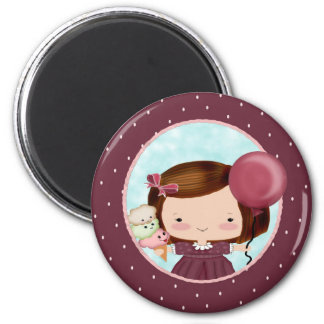Party Girl Magnet Favor
