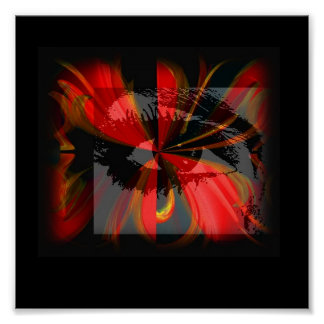 Party Girl Mask Print