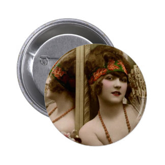Party Girl Pinback Button