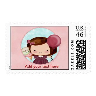 Party Girl Postage