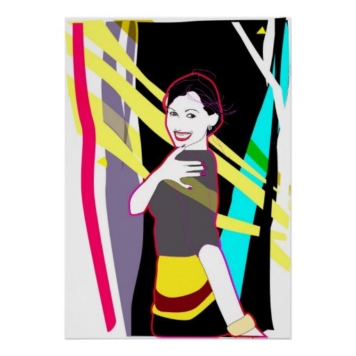 Party Girl Print