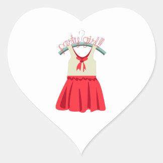 Party Girl!!! Heart Sticker