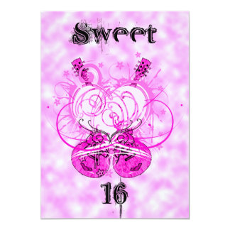 Party Girl Sweet 16 Birthday Invitation