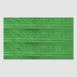 Party GIVEAWAYS Green Template DIY ADD TEXT IMAGE Rectangular Sticker