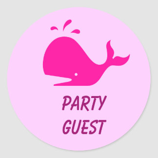 Party Guest Stickers