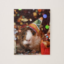 Party Guinea Pig Jigsaw Puzzle